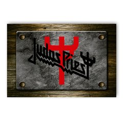 PLACA JUDAS PRIEST - comprar online