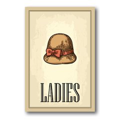 PLACA LADIES - comprar online