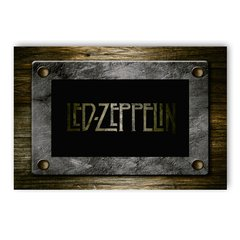 PLACA LED ZEPPELIN - comprar online