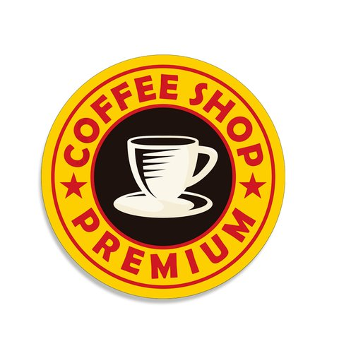 PLACA COFFEE 30 CM - comprar online