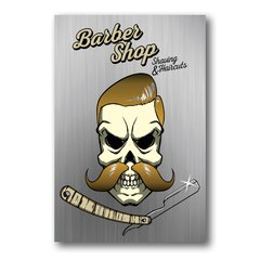 PLACA BARBER SHOP 2