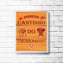 PLACA BARBECUE CHURRASCO!! - comprar online