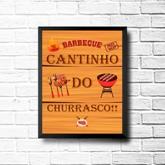 PLACA BARBECUE CHURRASCO!! na internet