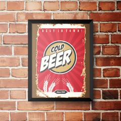 PLACA COLD BEER SINCE 1956 na internet