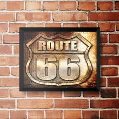 PLACA ROUTE 66 na internet