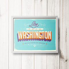 PLACA WASHINGTON - comprar online