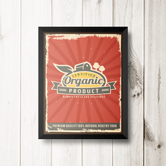 PLACA ORGANIC PRODUCT na internet
