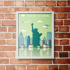PLACA NEW YORK - comprar online