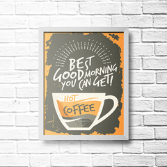 PLACA HOT COFFEE - comprar online