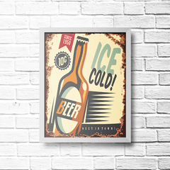 PLACA BEER SINCE 1950 - comprar online