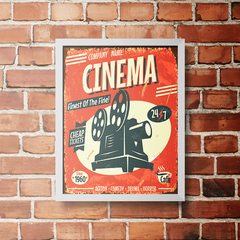 PLACA CINEMA - comprar online