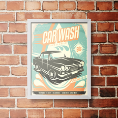 PLACA CAR WASH - comprar online