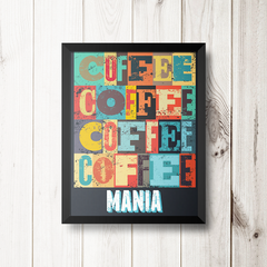 PLACA COFFEE MANIA na internet