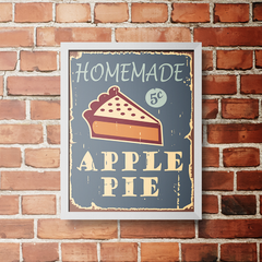 PLACA APPLE PIE - comprar online