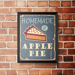 PLACA APPLE PIE na internet