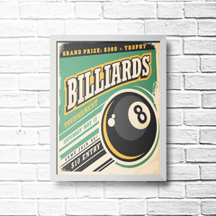PLACA BILLIARDS na internet