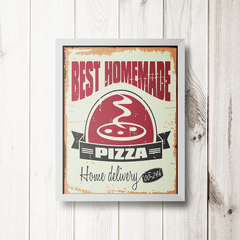 PLACA BEST PIZZA - comprar online