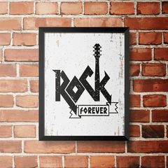 PLACA ROCK FOREVER na internet