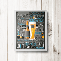 PLACA BEER WEEK - comprar online