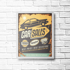 PLACA CAR SALES 1957 - comprar online