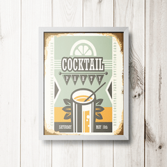 PLACA COCKTAIL PARTY - comprar online