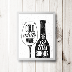 PLACA COLD WHITE WINE - comprar online