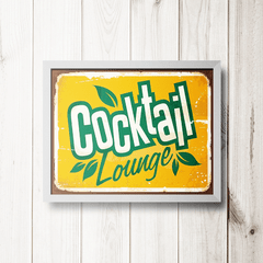 PLACA COCKTAIL LOUNGE - comprar online