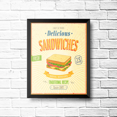 PLACA SANDWICHES na internet