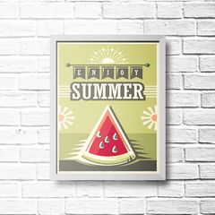 PLACA ENJOY SUMMER - comprar online