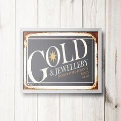 PLACA GOLD & JEWELLERY - comprar online