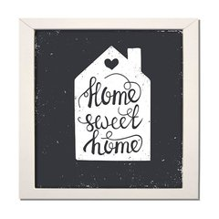 QUADRO FRASE HOME WEET