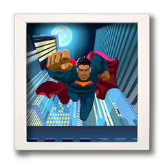 QUADRO SUPER MAN na internet