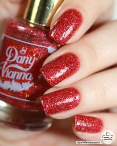 Ruby Red Slippers - By Dany Vianna Esmaltes Artesanais