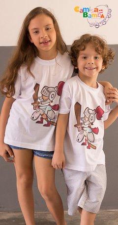 Camisa de Bamba - Camisa Infantil Cavalinho de Pau