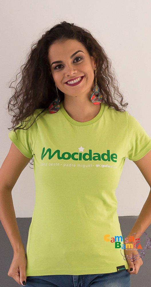 Mocidade - Camisa Feminina Geografia Carioca f5ac5619578d0