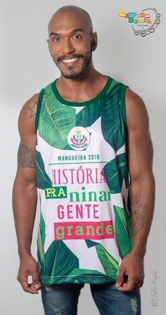 Mangueira - Regata Oficial Masculina Florida Enredo 2019. Mangueira - Boutique  Verde e Rosa Oficial 37f561e0e3f