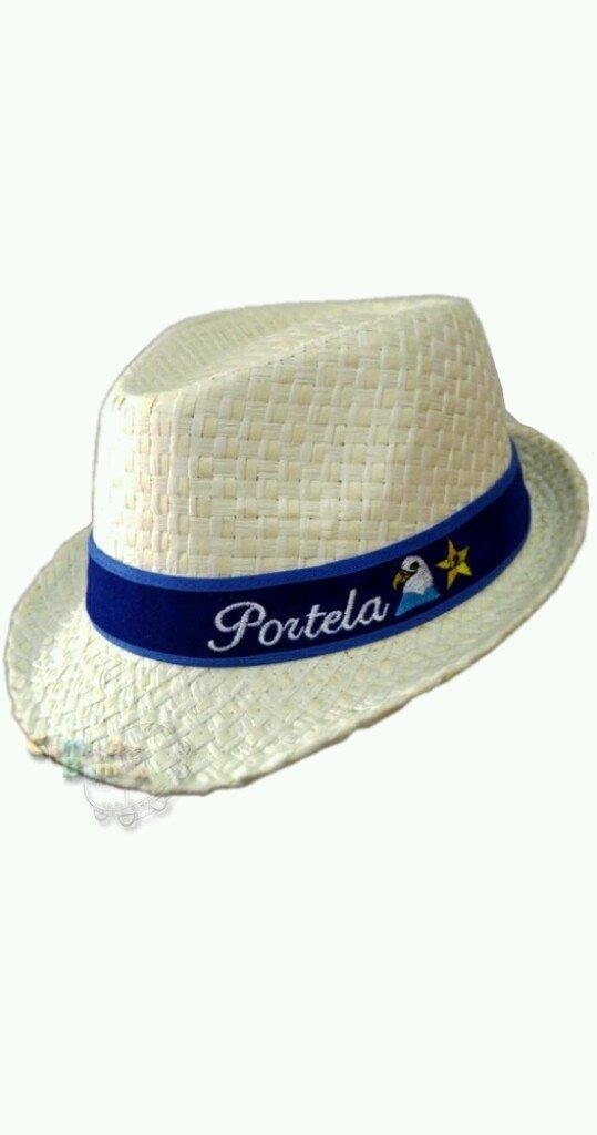 690f3256b ... Portela 22 - Chapéu Estilo Panamá Bordado (Unissex) - Camisa de Bamba  ...