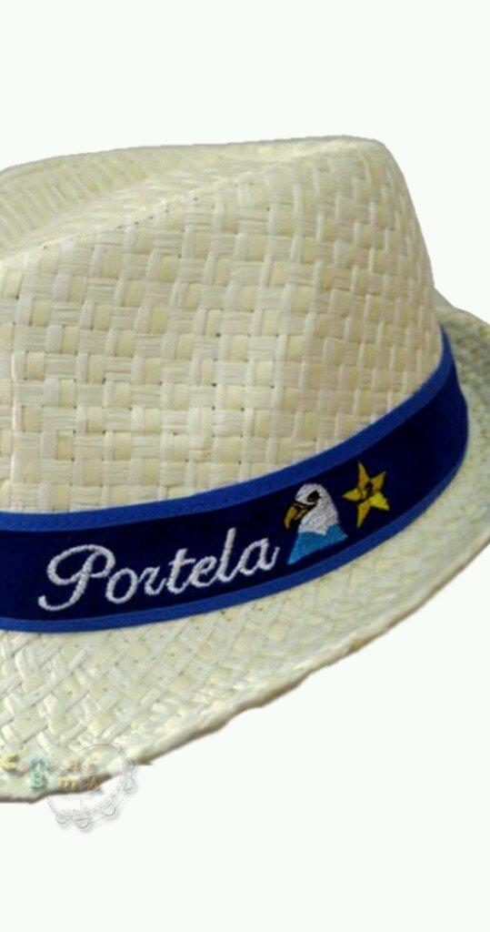 fd938222b ... Portela 22 - Chapéu Estilo Panamá Bordado (Unissex) - loja online ...