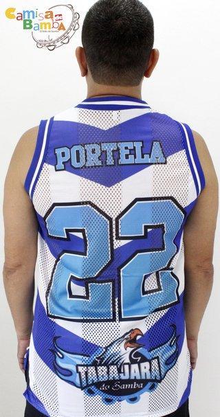 b8160313c73 Portela - Regata Tabajara 22 (Estilo NBA)