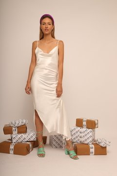 Vestido Exclusive MN Blanco en internet
