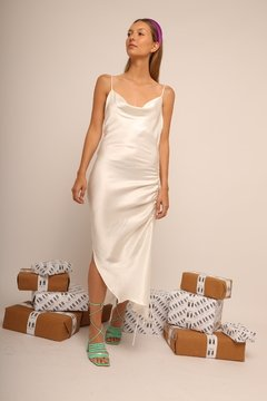 Vestido Exclusive MN Blanco - Estudio MN