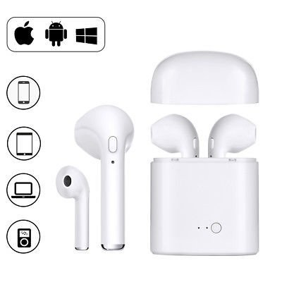 Imagen de Auriculares Inalambricos I7s Tws / Iphone /android (blanco)