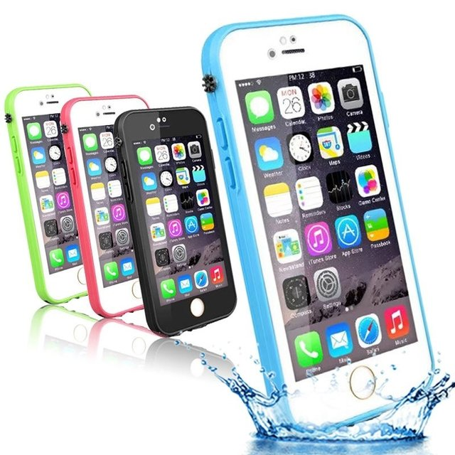Funda WaterProof iPhone 5/6/6P/7/7P - Varios Colores en internet