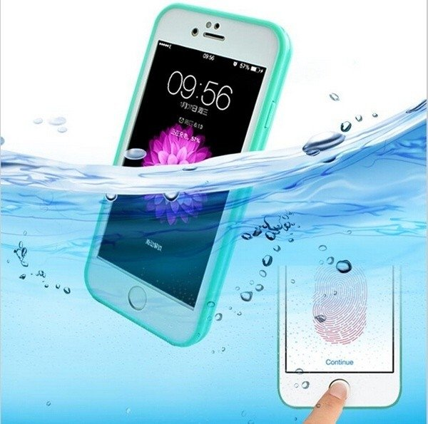 Funda WaterProof iPhone 5/6/6P/7/7P - Varios Colores - comprar online