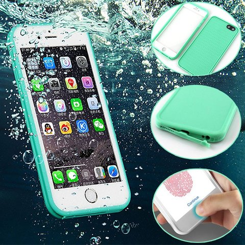 Funda WaterProof iPhone 5/6/6P/7/7P - Varios Colores