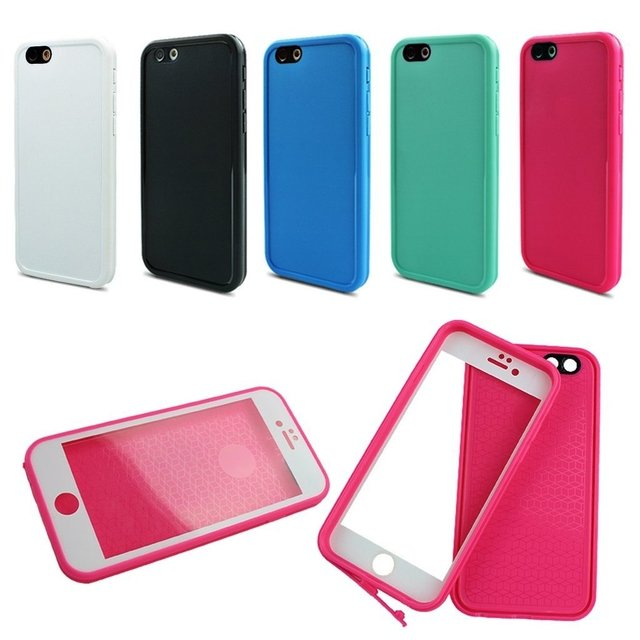 Funda WaterProof iPhone 5/6/6P/7/7P - Varios Colores - TopTek