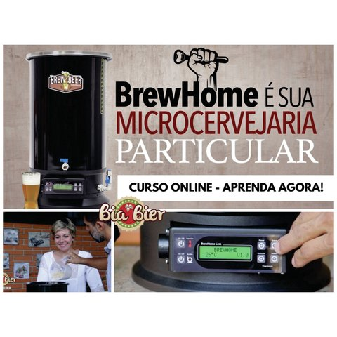 Curso completo Online na BrewHome
