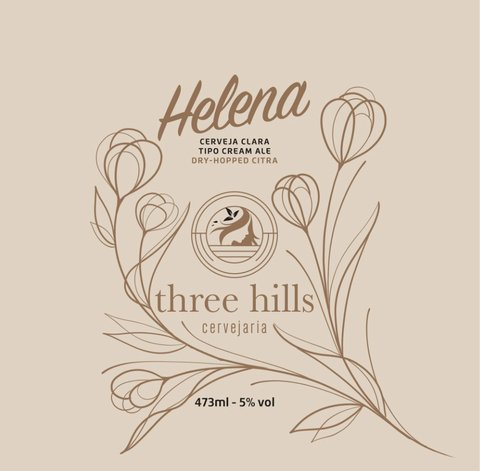 Kit Cerveja Three Hills - Helena - Cream Ale