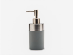 DISPENSER ACERO GRIS MATE