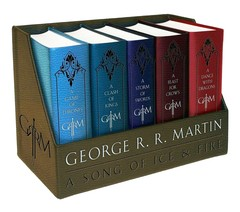 GAME OF THRONES - Box Set Deluxe Edition - George R. R. Martin